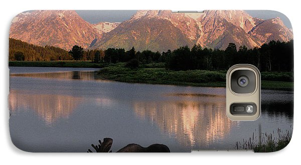 Mountain Galaxy S7 Case - Morning Tranquility by Sandra Bronstein