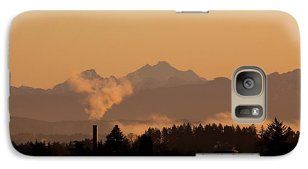 Galaxy Case featuring the photograph Morning View by Evgeny Vasenev