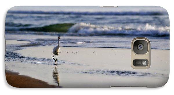Morning Walk At Ormond Beach Galaxy S7 Case