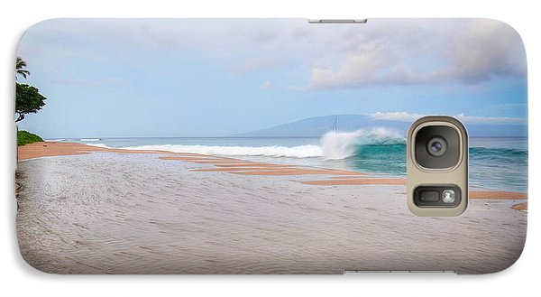 Galaxy Case featuring the photograph Morning Wave by Kelly Wade