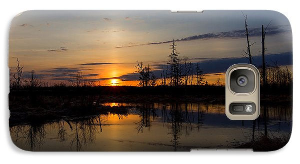Galaxy Case featuring the photograph Morning Wilderness by Gary Smith
