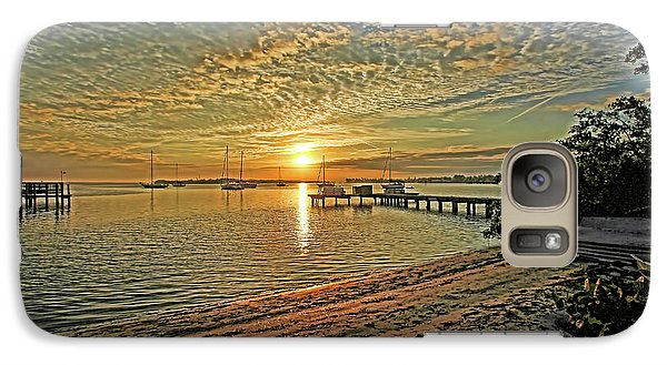 Galaxy Case featuring the photograph Mornings Embrace by HH Photography of Florida