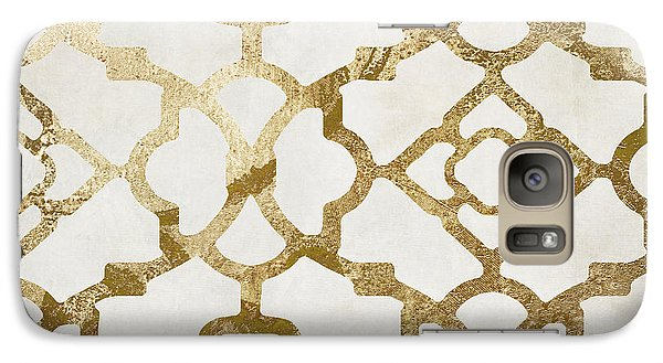 Moroccan Gold I Galaxy Case by Mindy Sommers