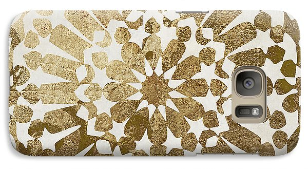 Moroccan Gold II Galaxy Case by Mindy Sommers
