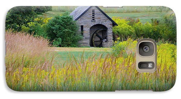 Galaxy Case featuring the photograph Morris Arboretum Mill In September by Bill Cannon