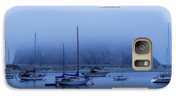 Galaxy Case featuring the photograph Morro Bay by Jan Cipolla