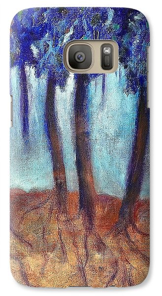 Galaxy Case featuring the painting Mosaic Daydreams by Elizabeth Fontaine-Barr