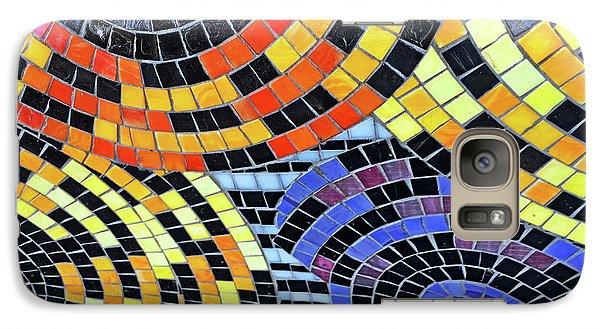 Mosaic No. 113-1 Galaxy Case by Sandy Taylor