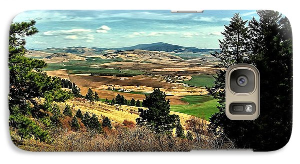 Galaxy Case featuring the photograph Moscow Mountain From Kamiak Butte by Farol Tomson