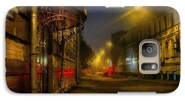 Galaxy Case featuring the photograph Moscow Steampunk Sketch by Alexey Kljatov