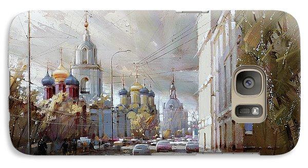 Moscow. Varvarka Street. Galaxy S7 Case by Ramil Gappasov