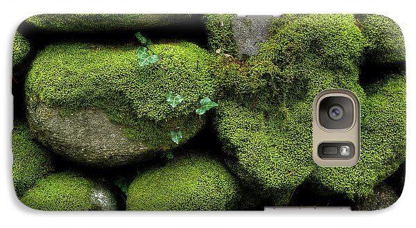 Galaxy Case featuring the photograph Moss And Ivy by Mike Eingle