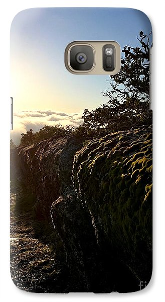 Galaxy Case featuring the photograph Moss Landing by Paul Foutz