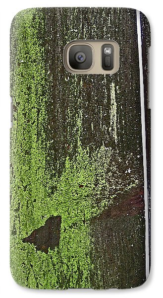 Galaxy Case featuring the photograph Mossy Fence 2 by Mary Bedy