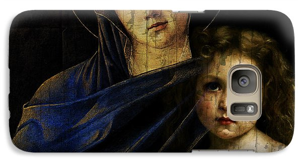 Galaxy Case featuring the mixed media Mother And Child Reunion  by Paul Lovering