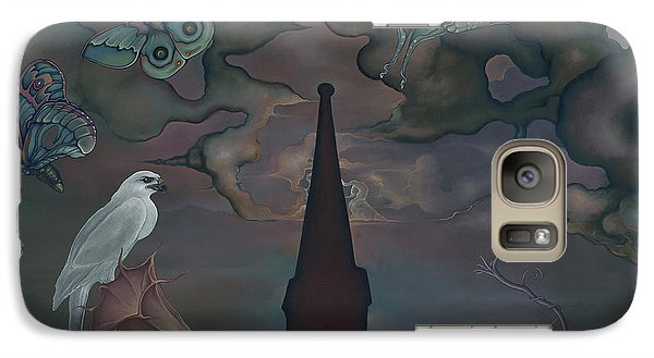 Galaxy Case featuring the painting Mother Emanuel by Andrew Batcheller