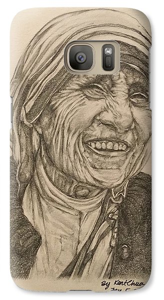 Mother Theresa Kindness Galaxy S7 Case by Kent Chua