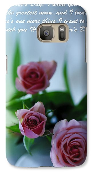 Galaxy Case featuring the photograph Mother's Day Card 1 by Michael Cummings