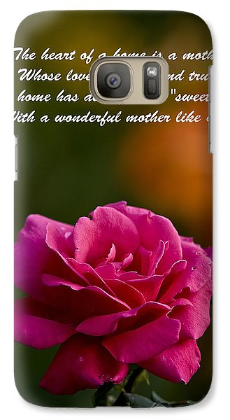 Galaxy Case featuring the photograph Mother's Day Card 2 by Michael Cummings