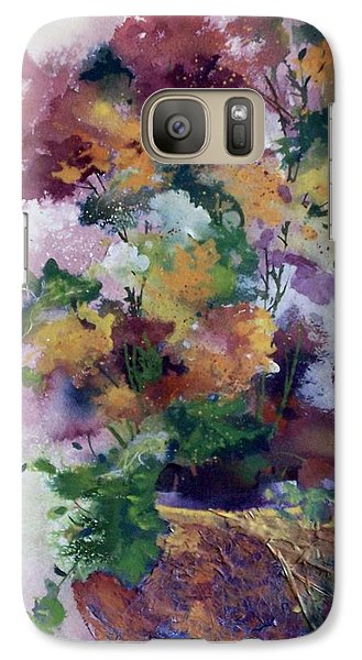 Galaxy Case featuring the painting Mother's Day Floral by Helen Harris