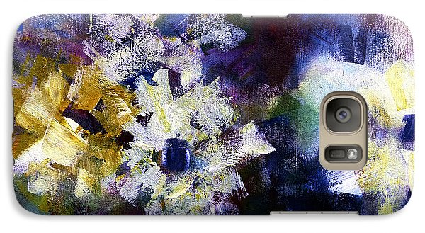 Galaxy Case featuring the painting Mothers Day by Katie Black