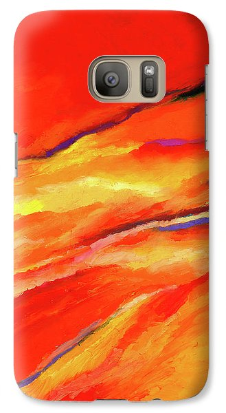 Galaxy Case featuring the painting Motivation by Stephen Anderson