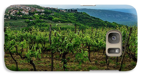 Motovun And Vineyards - Istrian Hill Town, Croatia Galaxy S7 Case
