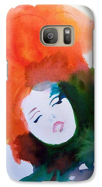 Galaxy Case featuring the painting Moulin Rouge by Ed  Heaton