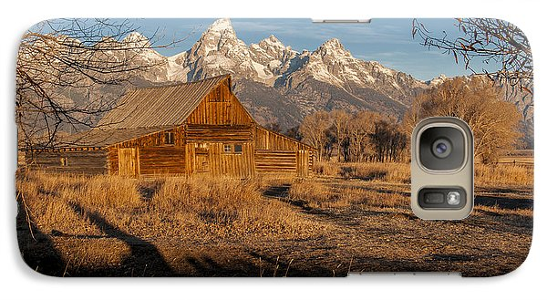 Galaxy Case featuring the photograph Moulton Barn by Gary Lengyel