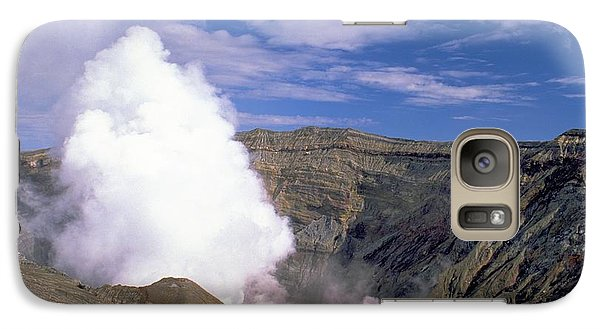 Galaxy Case featuring the photograph Mount Aso by Travel Pics