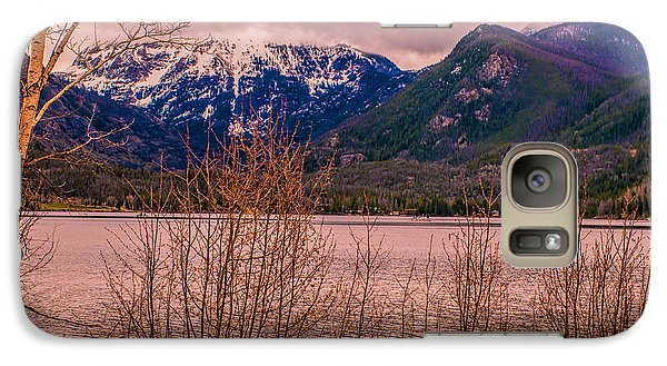 Galaxy Case featuring the photograph Mount Baldy From Point Park by Tom Potter