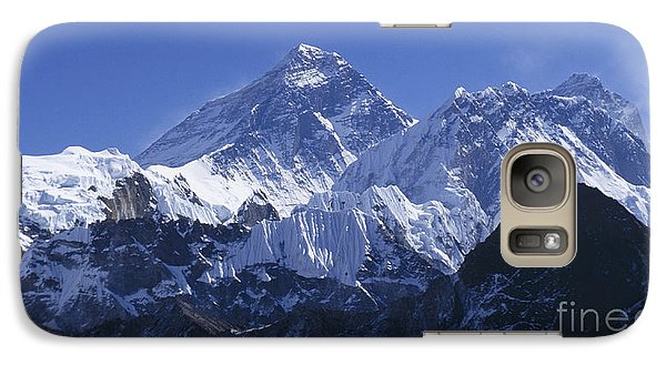 Galaxy Case featuring the photograph Mount Everest Nepal by Rudi Prott