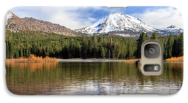 Galaxy Case featuring the photograph Mount Lassen Autumn Panorama by James Eddy