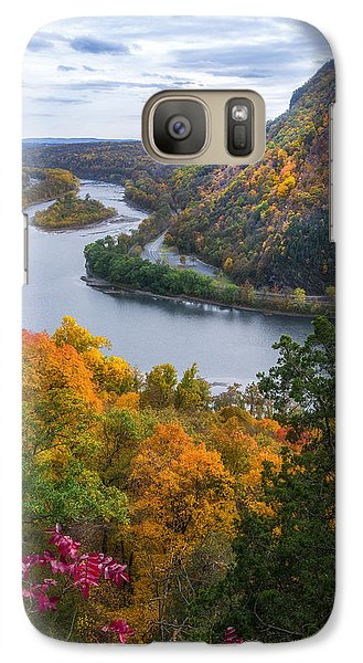 Galaxy Case featuring the photograph Mount Minsi 2 by Mark Papke