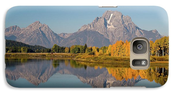 Galaxy Case featuring the photograph Mount Moran by Steve Stuller