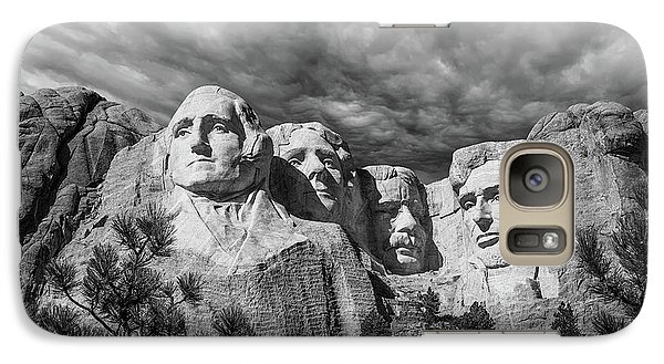 Mount Rushmore Galaxy S7 Case - Mount Rushmore II by Tom Mc Nemar