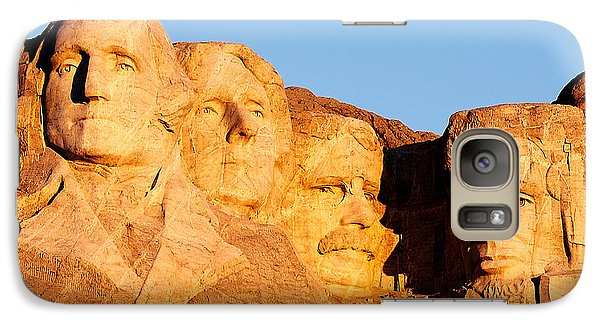 Lincoln Memorial Galaxy S7 Case - Mount Rushmore by Todd Klassy