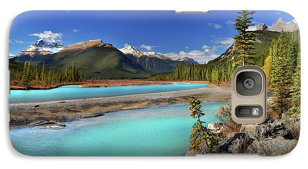 Galaxy Case featuring the photograph Mount Saskatchewan by John Poon
