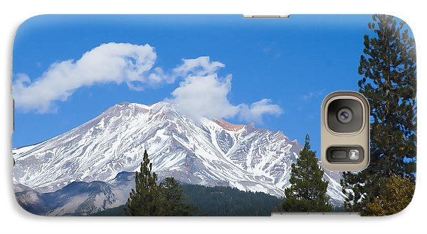 Mount Shasta California Galaxy S7 Case by Yulia Kazansky