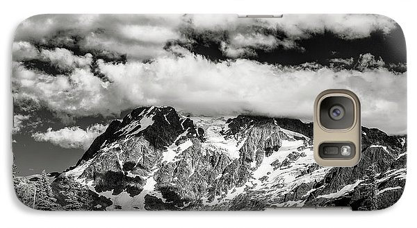 Galaxy Case featuring the photograph Mount Shuksan Under Clouds by Jon Glaser