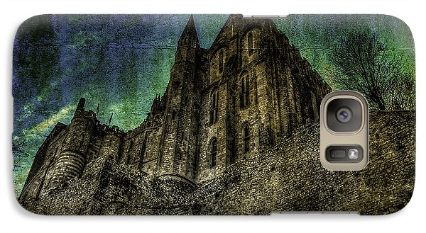 Galaxy Case featuring the photograph Mount St Michael Unreal by Karo Evans
