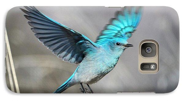 Mountain Blue Galaxy S7 Case by Mike Dawson