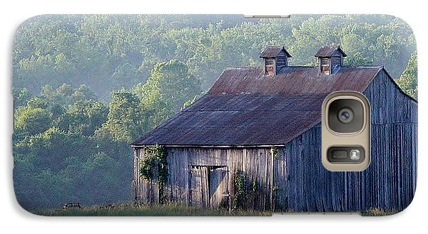 Mountain Cabin Galaxy S7 Case