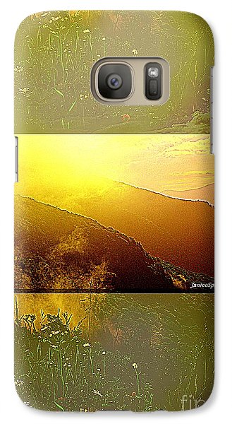 Galaxy Case featuring the photograph Mountain Days by Janice Spivey