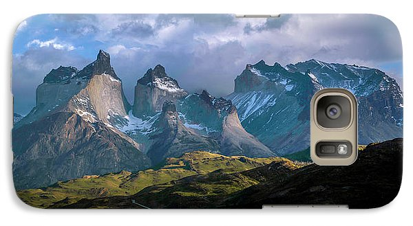 Galaxy Case featuring the photograph Mountain Dream by Andrew Matwijec
