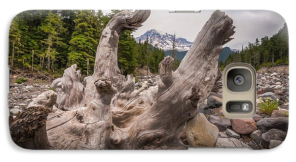 Galaxy Case featuring the photograph Mountain Dry River by Chris McKenna