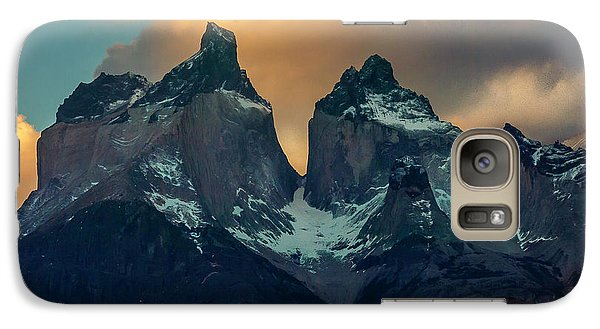 Galaxy Case featuring the photograph Mountain Evening by Andrew Matwijec