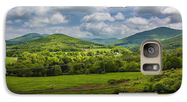 Mountain Field Of Greens Galaxy S7 Case