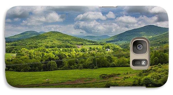 Mountain Field Of Greens Galaxy S7 Case by Paula Porterfield-Izzo