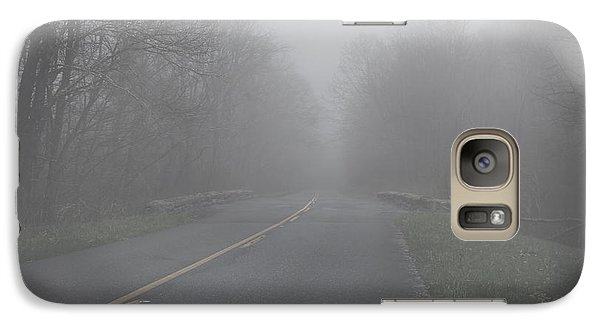Galaxy Case featuring the photograph Mountain Fog by Joseph G Holland